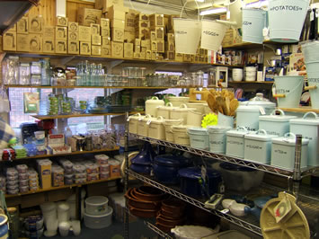 Storage utensils of all kinds & KITCHEN SHOP SURREY - Tableware sundry gadgets tools accessories ...